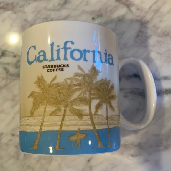 California Starbucks mug